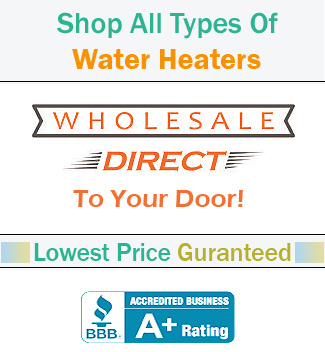 Cost to buy hot water tanks, discounted deals on parts, and accessories