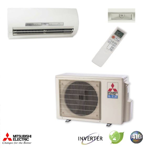 18000 BTU Mitsubishi MR.SLIM Ductless Mini Split Air Conditioner SEER 20.2 | eBay