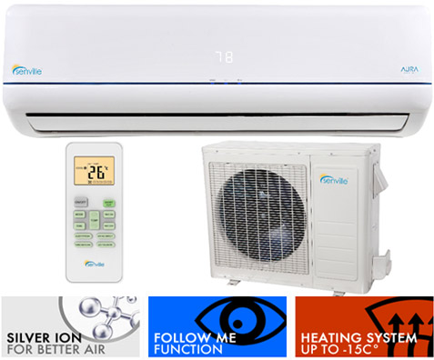 Senville Split Air Conditioner Senville Ductless Air Conditioning